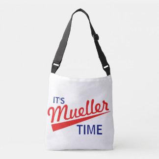 """Sac Ajustable Drôle """"il est temps de Mueller """""""