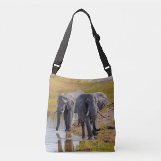 Sac Ajustable Éléphants à un point d'eau