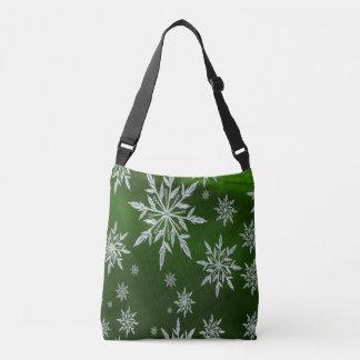 Sac Ajustable Étoiles vertes de Noël avec le cristal de glace