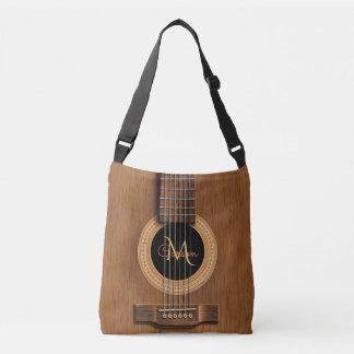 Sac Ajustable Guitare acoustique en bois chaude