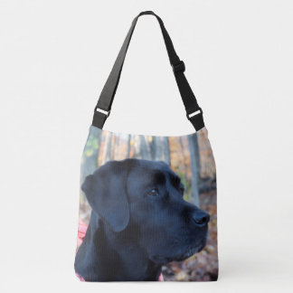 Sac Ajustable Labrador noir - lueur d'automne