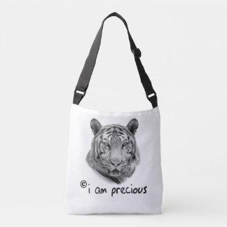 Sac Ajustable Le tigre blanc je suis précieux