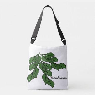 Sac Ajustable Les femmes naturelles avec les feuilles vertes