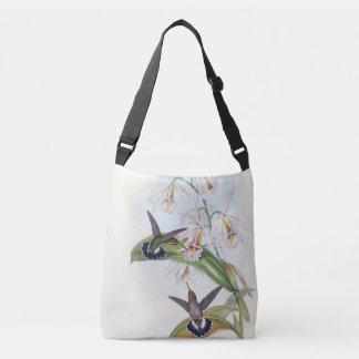 Sac Ajustable L'orchidée de faune d'oiseaux de colibri fleurit