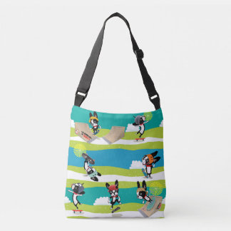 Sac Ajustable Mirabelle le planchiste Sk8r de terrier de Boston