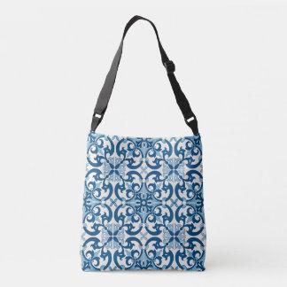 Sac Ajustable Motif d'Azulejo Fleur De Lis Style de Portugais