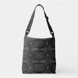 Sac Ajustable Nuances de motif classique gris de charbon de bois