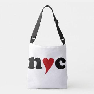 Sac Ajustable nyc with heart