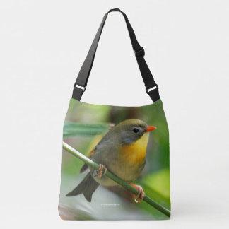 Sac Ajustable Oiseau chanteur coloré de Leiothrix/Pekin Robin