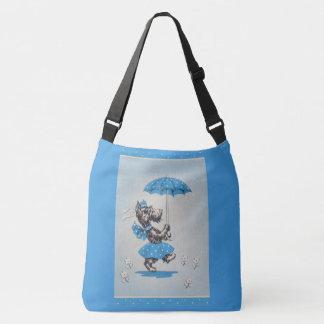 Sac Ajustable Parapluie de transport de dame de chien de Scottie