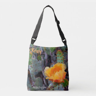 Sac Ajustable Photo orange de fleur de figuier de barbarie