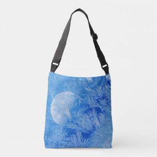 Sac Ajustable Photographie créative de lune bleue d'hiver