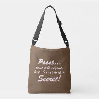Sac Ajustable Pssst… je ne peux pas garder un SECRET (blanc)