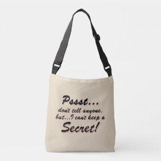 Sac Ajustable Pssst… je ne peux pas garder un SECRET (le noir)