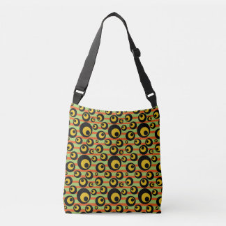 Sac Ajustable Rayures jaune-orange de moutarde verte