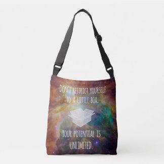 Sac Ajustable Votre potentiel est nébuleuse illimitée de galaxie