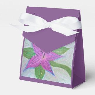 sac aléatoire de faveur de fleur de purle ballotins