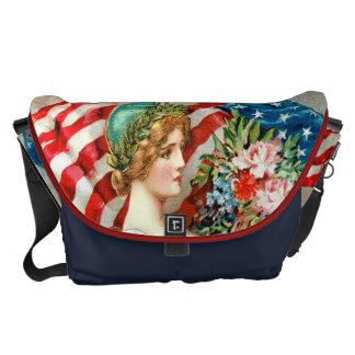 sac américain vintage mignon Américain cru Besace