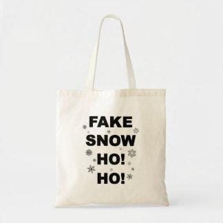 Sac Amusement fourre-tout de Noël : Fausse neige Ho !