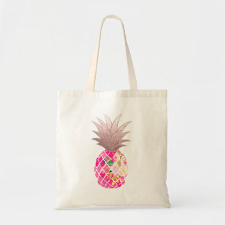 Sac Ananas de PixDezines Aloha+Or rose de Faux