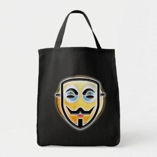 Sac anonyme drôle de sucrerie de masque de