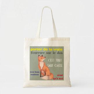 sac anti commerce fourrure