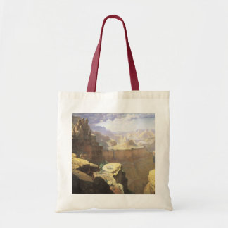 Sac Art occidental américain vintage, canyon grand par
