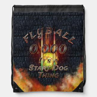 Sac Avec Cordons 0,000 Flyball Flamz : C'est une chose de chien de