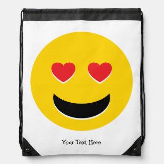 Sac Avec Cordons Amour d'Emoji