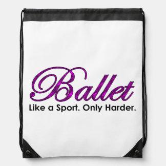 Sac Avec Cordons Ballet. Comme un sport. Seulement plus dur