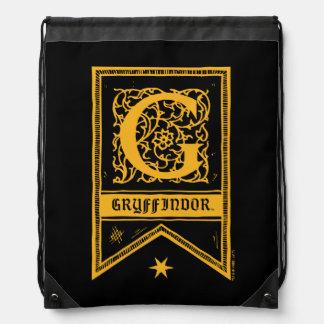 Sac Avec Cordons Bannière de monogramme de Harry Potter  
