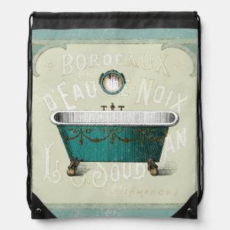 Sac Avec Cordons Bath parisien vintage
