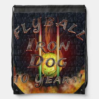 Sac Avec Cordons Chien de fer de Flamz Flyball - 10 ans de