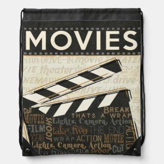 Sac Avec Cordons Clapet vintage de film