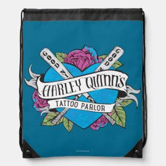 Sac Avec Cordons Coeur de salon de tatouage du suicide peloton |