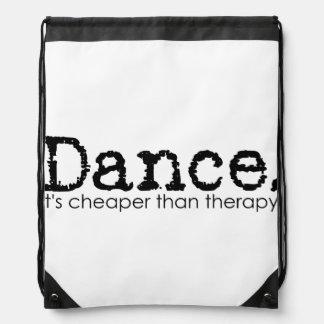 Sac Avec Cordons Danse. Elle est meilleur marché que la thérapie