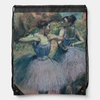 Sac Avec Cordons Danseurs d'Edgar Degas | dans la violette