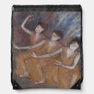 Sac Avec Cordons Danseuses d'Edgar Degas | Trois