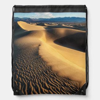 Sac Avec Cordons Dunes de sable dans Death Valley, CA