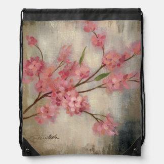 Sac Avec Cordons Fleurs de cerisier
