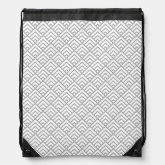 Sac Avec Cordons GRIS patterns05
