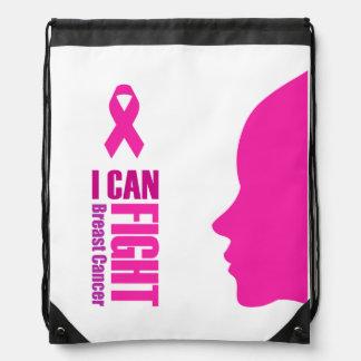 Sac Avec Cordons Je peux combattre des femmes de soutien de cancer