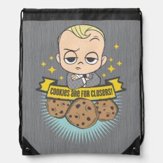 Sac Avec Cordons Le bébé et les biscuits du bébé | de patron sont