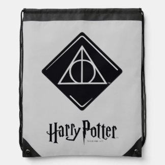 Sac Avec Cordons Le charme   de Harry Potter de mort sanctifie