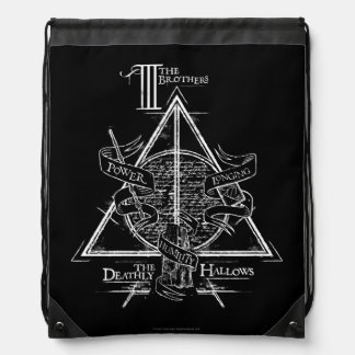 Sac Avec Cordons Le charme | de Harry Potter DE MORT SANCTIFIE le