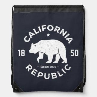 Sac Avec Cordons Logo | de la Californie le Golden State