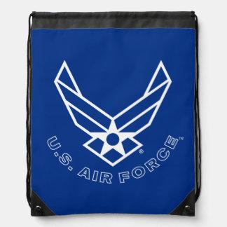 Sac Avec Cordons Logo de l'Armée de l'Air - bleu