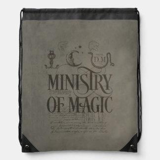 Sac Avec Cordons MINISTÈRE du charme   de Harry Potter de MAGIE
