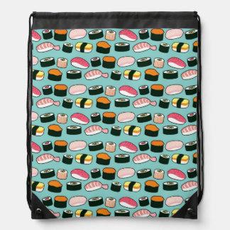 Sac Avec Cordons Motif illustré par amusement délicieux de sushi