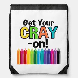 Sac Avec Cordons Obtenez votre Cray sur le professeur d'art fou de